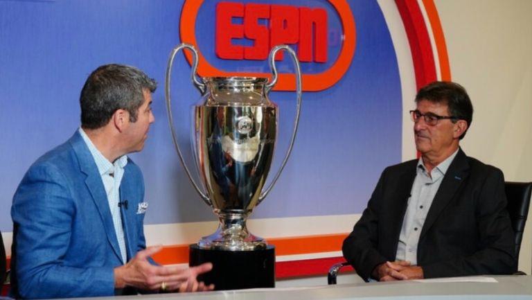 Fernando Palomo se despidió de la Champions League como narrador