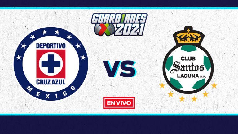 EN VIVO Y EN DIRECTO: Cruz Azul vs Santos Guardianes 2021 Final Vuelta