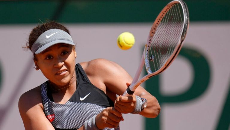 Naomi Osaka en el Roland Garros