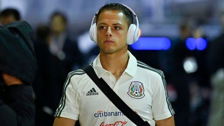 Chicharito no ha sido convocado por la Selección