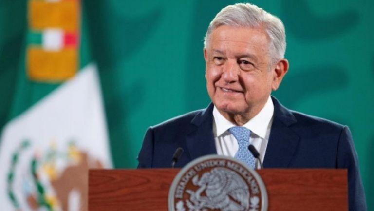 Andrés Manuel López Obrador durante conferencia de prensa