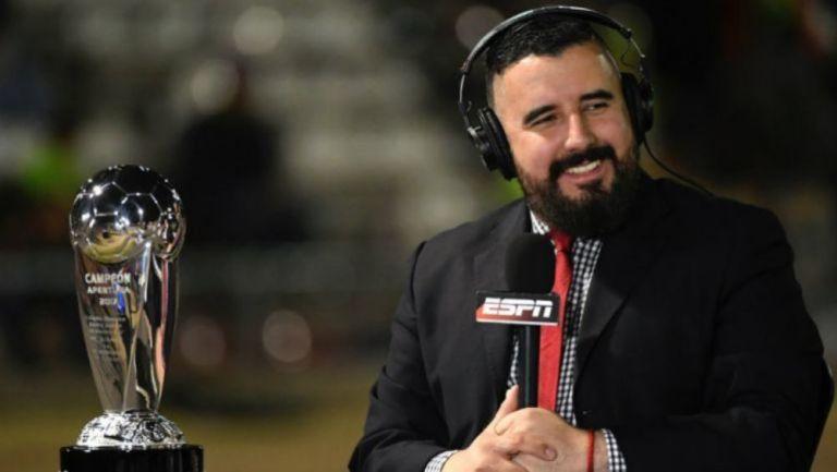 Álvaro Morales en transmisión de ESPN