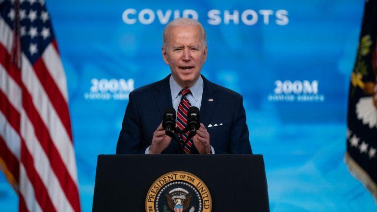 Presidente de los Estados Unidos Joe Biden en conferencia de prensa