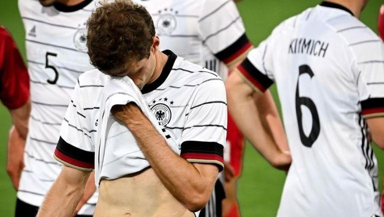 Alemania empató con Dinamarca