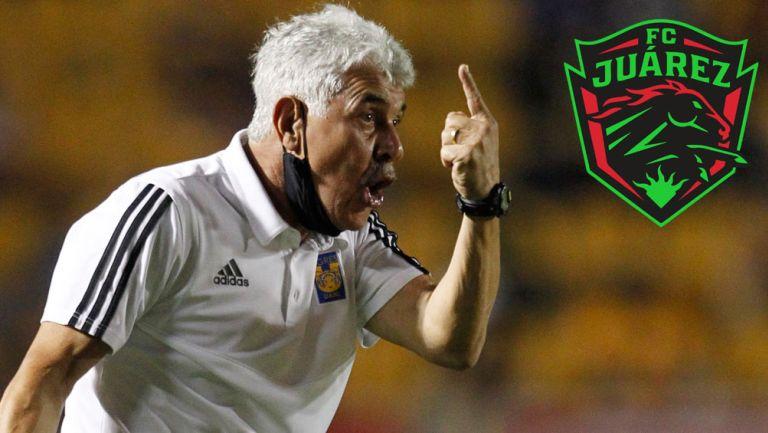 Ricardo Ferretti, en su paso con Tigres