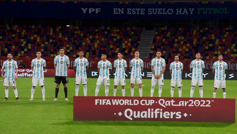 Maradona: Selección Argentina homenajeó a Diego Armando previo a juego vs Chile