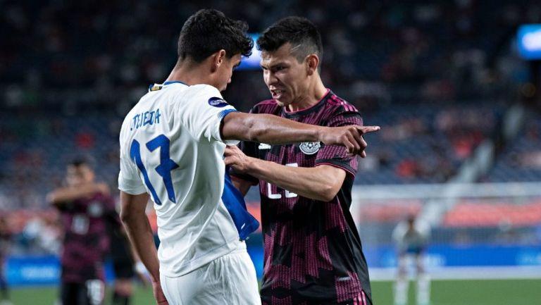 Lozano se quejó del arbitraje