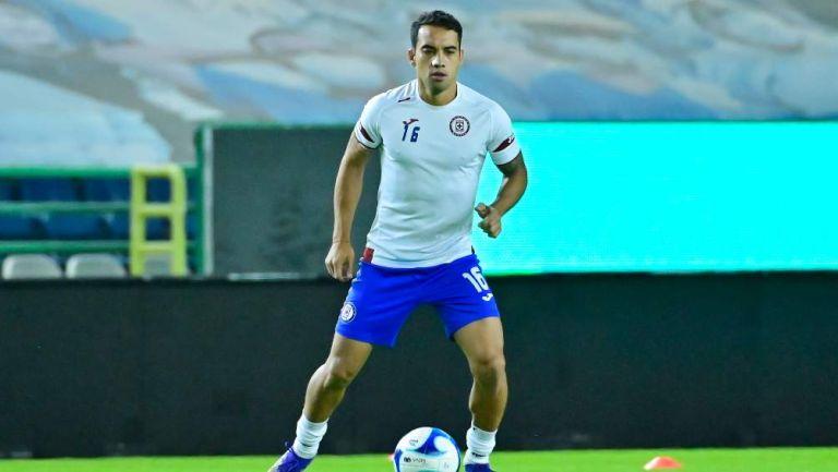 Adrián Aldrete en partido