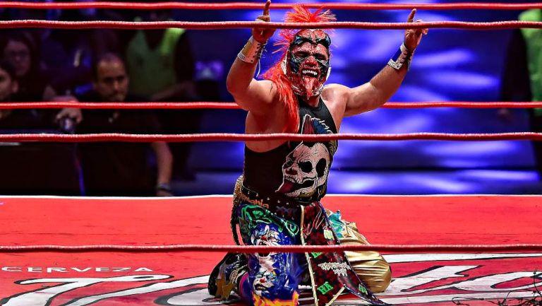 Psycho Clown en lucha
