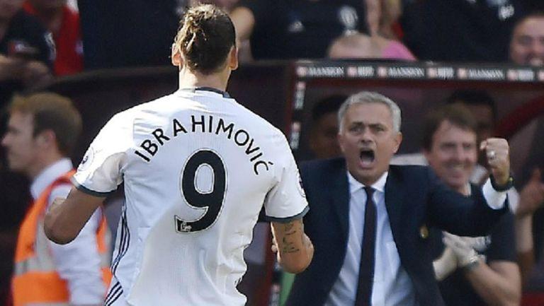 Zlatan Ibrahimovic: 'Mou es un personaje, todo lo que dice da la vuelta al mundo'