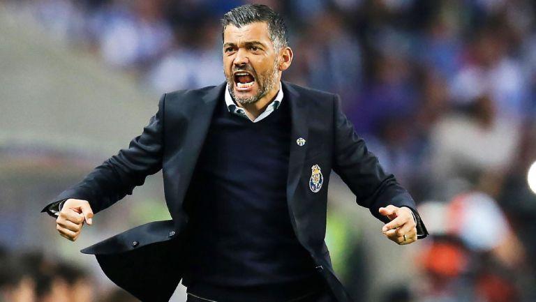 Sérgio Conceição durante un duelo del Porto