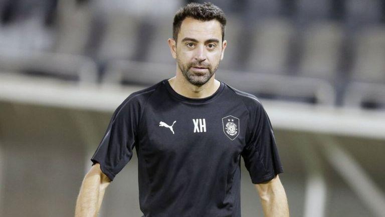 Xavi Hernández durante un duelo del Al Sadd