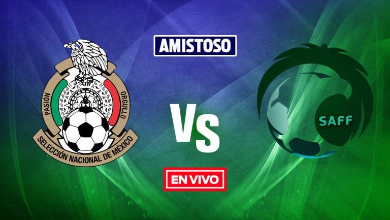 EN VIVO Y EN DIRECTO: México Sub 23 vs Arabia Saudita Sub 23 Amistoso Internacional