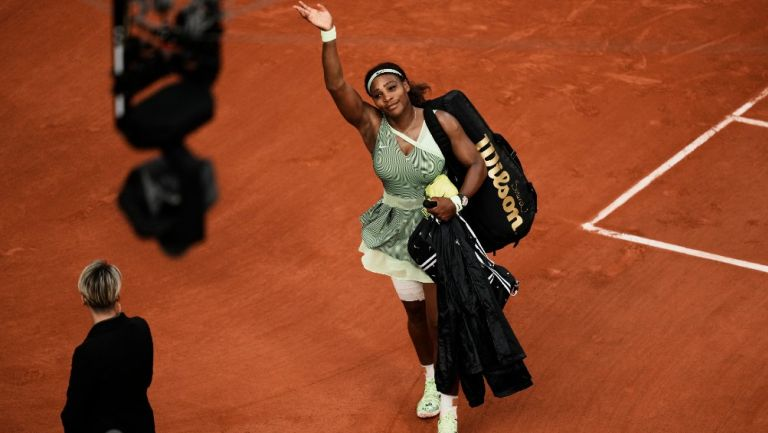 Serena Williams se despide de París