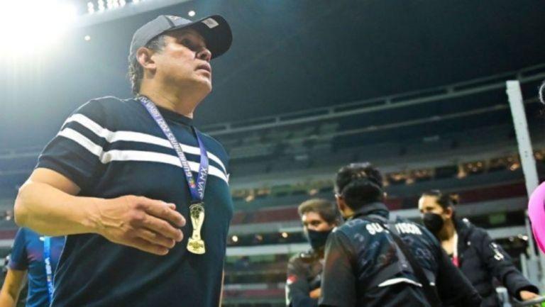 Juan Reynoso como campeón con Cruz Azul