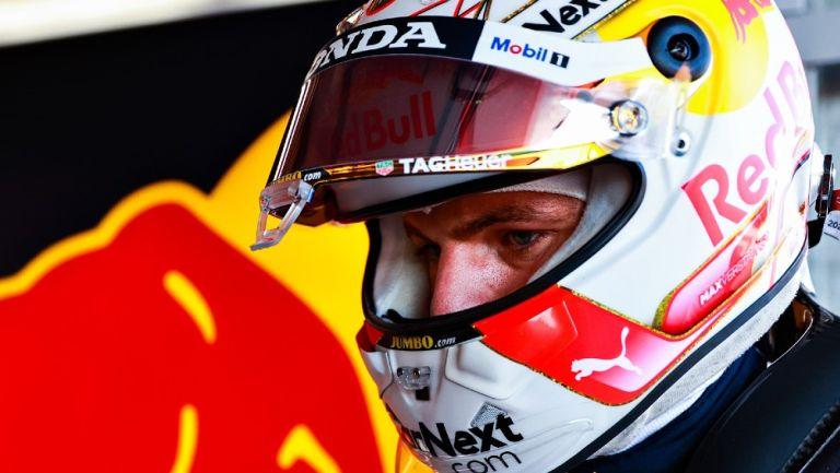 Max Verstappen con la escudería Red Bull