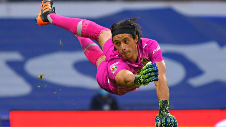 Toño Rodríguez, en acción con Chivas