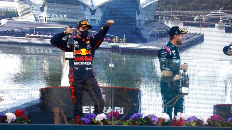 Checo Pérez ganó el Gran Premio de Azerbaiyán