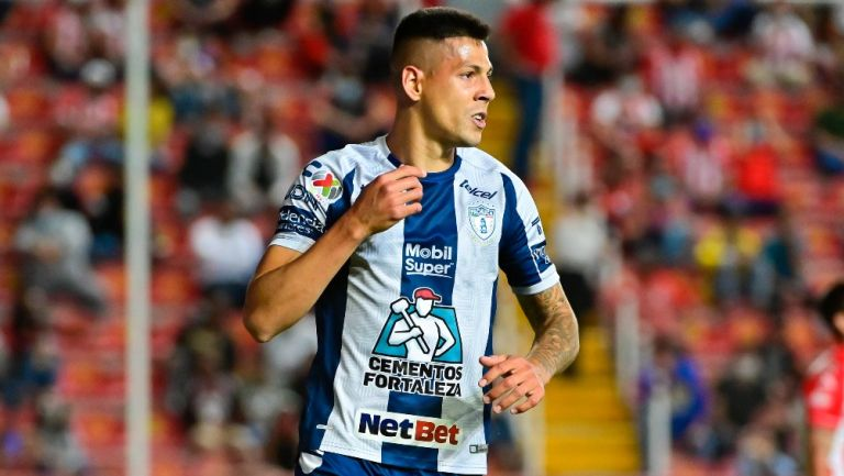 Mauro Quiroga regresa a Necaxa