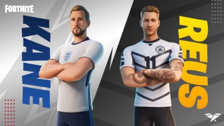 Harry Kane y Marco Reus llegarán a Fortnite