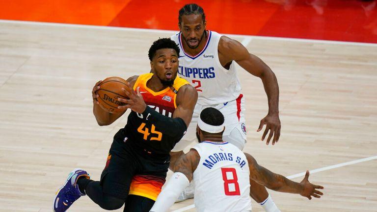 NBA Playoffs: Jazz remontó ante Clippers con gran actuación de Donovan Mitchell
