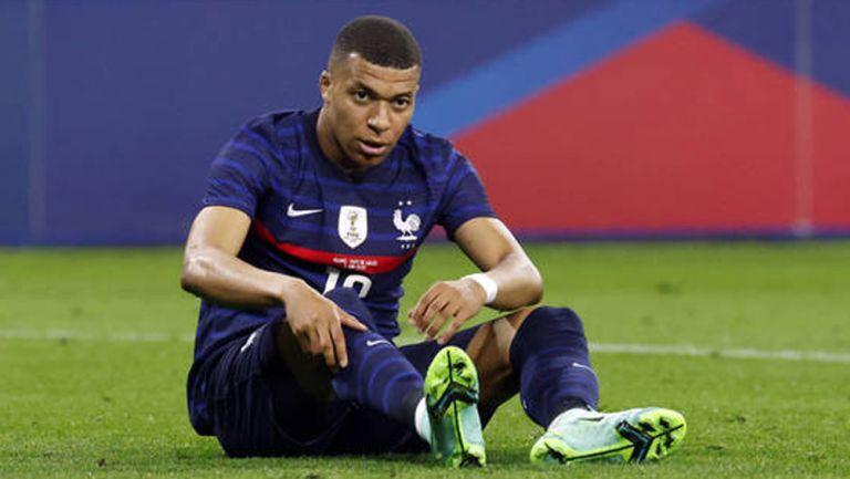 Mbappé, en juego de Francia