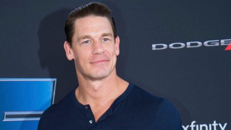 John Cena promocionando Rápidos y Furiosos 9