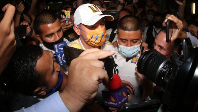 Florian Thauvin a su llegada a Monterrey
