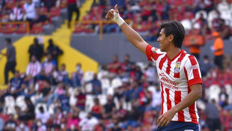 JJ Macías en el Chivas contra Atlas