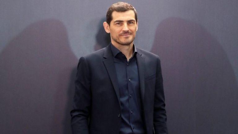 Exportero del Real Madrid y la selección española Iker Casillas