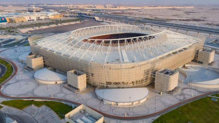 El Estadio Al Rayyan desde una toma aérea