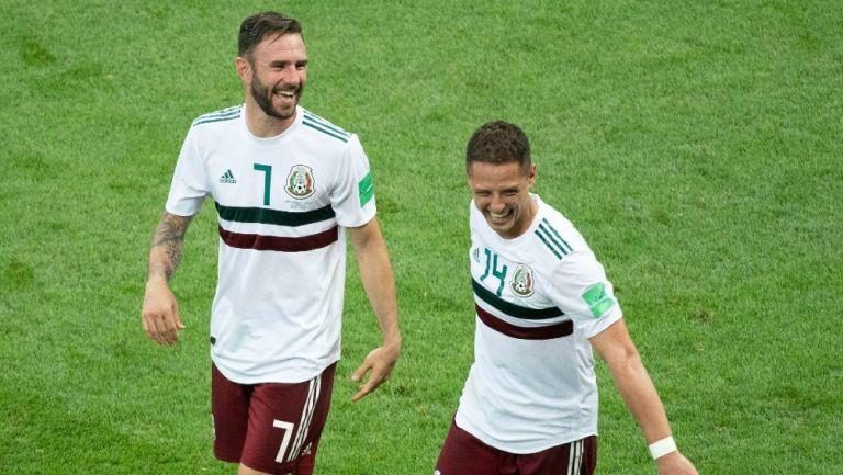 Layún sobre Chicharito: 'Me ha externado las ganas que tiene de volver a la Selección'