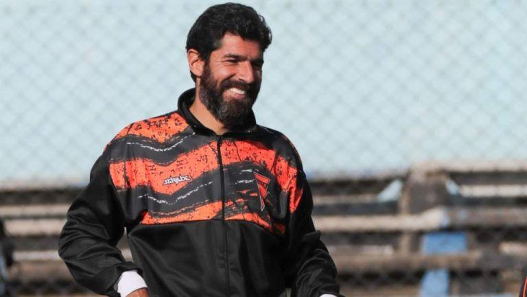 Sebastián Abreu en partido