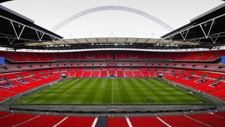 Vista panorámica del Estadio de Wembley