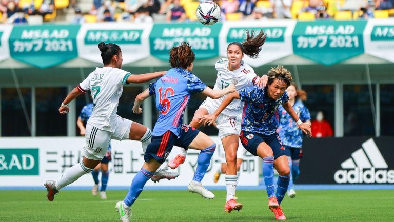 Acción en el Japón vs México