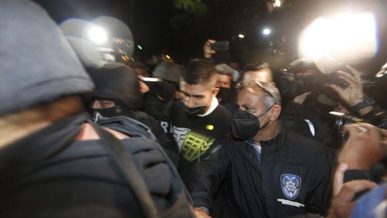 Diego Armando 'N' bajo custodia