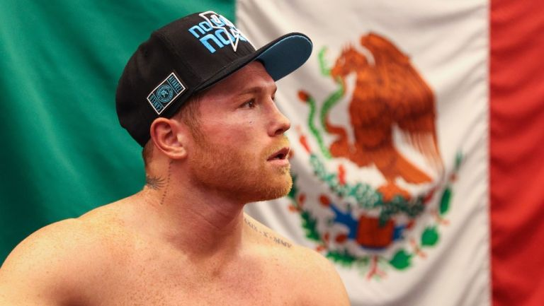 Canelo Álvarez, boxeador mexicano
