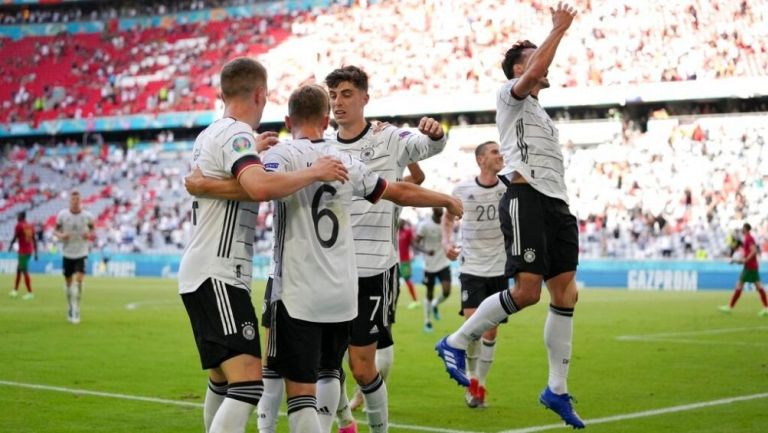 Alemania Goleó a Portugal