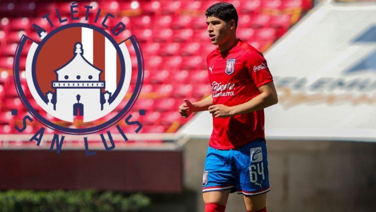 Chivas: Zahid Muñoz llegó a préstamo con Atlético de San Luis