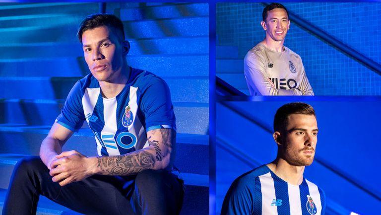 Presentación de uniformes New Balance del Porto
