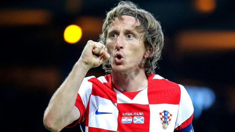 Luka Modric, tras victoria sobre Escocia: 'Cuando jugamos así somos peligrosos para todos'