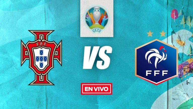 EN VIVO Y EN DIRECTO: Portugal vs Francia