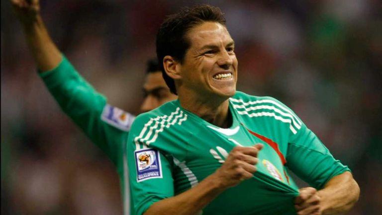 Guille Franco con la Selección Mexicana
