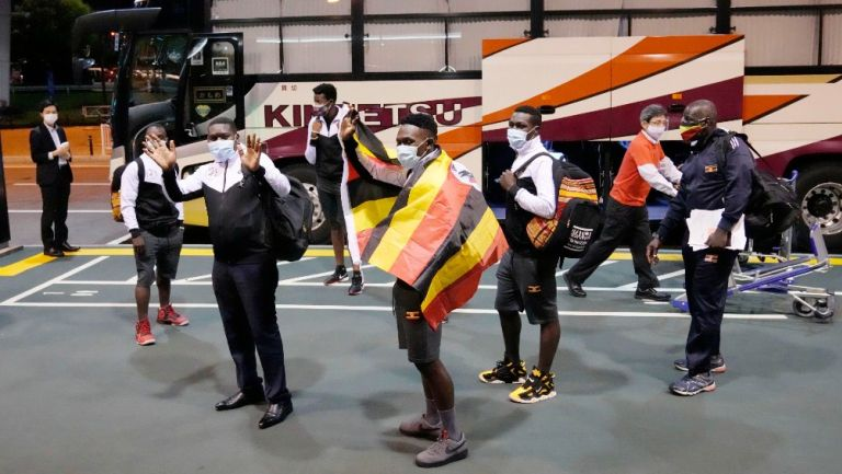 Delegación de Uganda se prepara para partir hacia Osaka