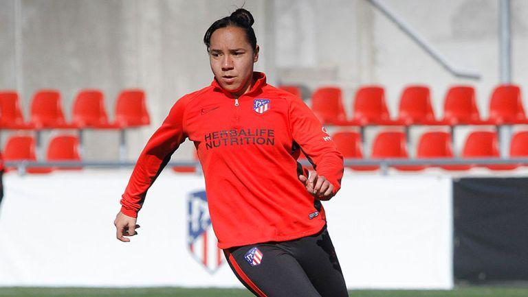 Charlyn Corral acordó con Atlético de Madrid la rescisión de su contrato