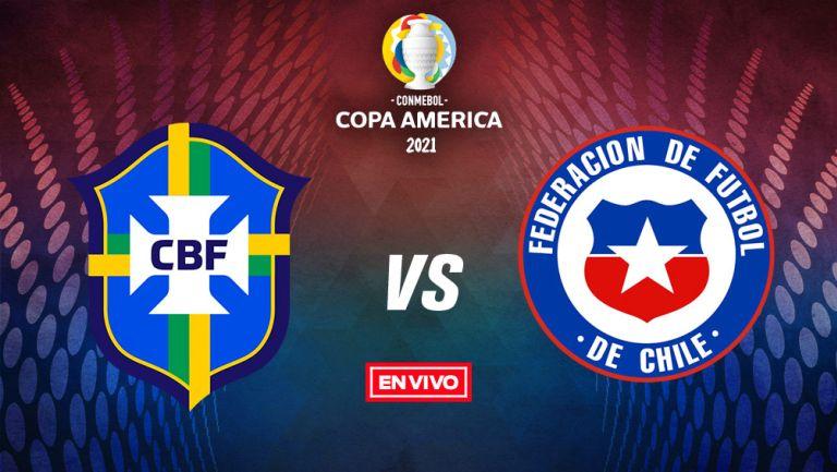 EN VIVO Y EN DIRECTO: Brasil vs Chile Copa América Cuartos de Final