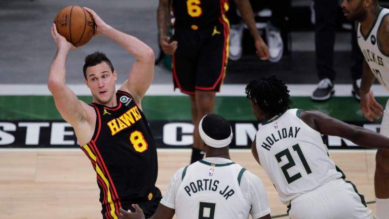 Bucks en partido de la NBA