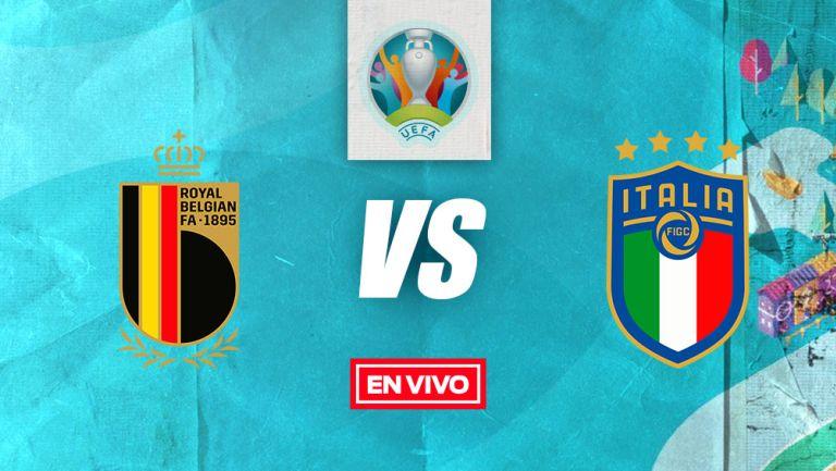 EN VIVO Y EN DIRECTO: Bélgica vs Italia