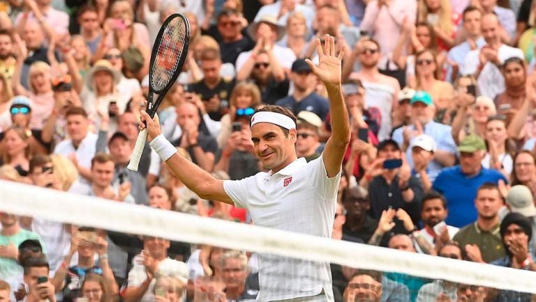 Wimbledon: Roger Federer elevó su nivel y eliminó a Richard Gasquet