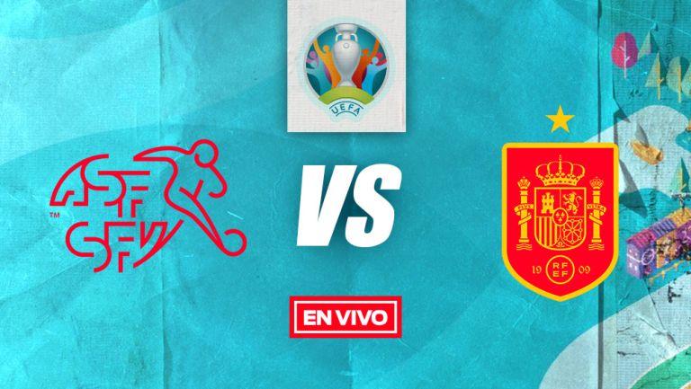EN VIVO Y EN DIRECTO: Suiza vs España